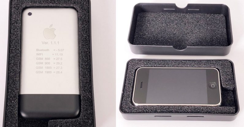 Ebay auction for iPhone prototype hits $25K overnight