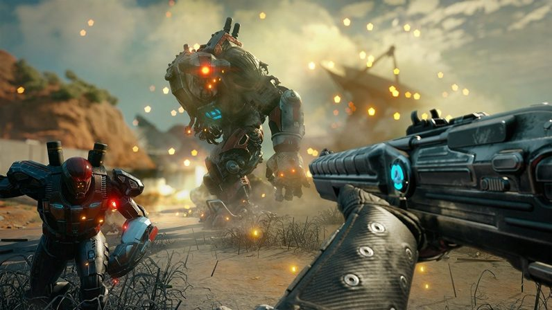 I played a teensy-weensy bit of RAGE 2 at Gamescom and it was cool