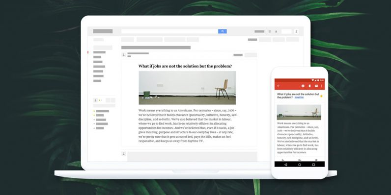 EmailThis organizes all your web reading into one simple app — get it now at 86% off