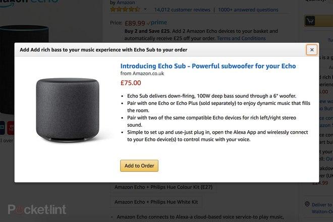 Leak: Amazon's Echo Sub will turn Alexa into a 2.1 stereo system