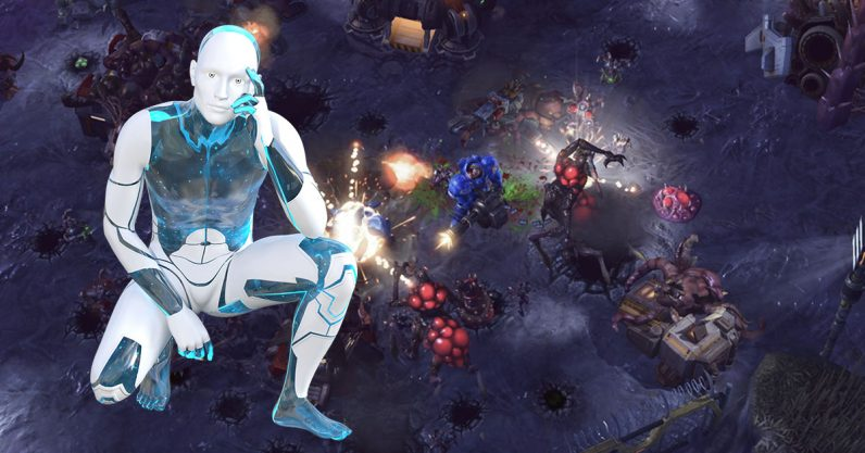 AI videogame 796x417 - Tencent created AI agents that can beat StarCraft 2's Cheater AI