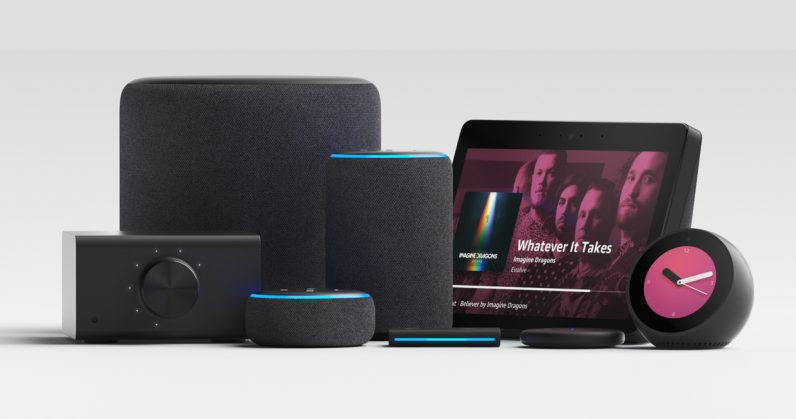 Amazon Echo products lineup 2018 796x419 - Here's all the new Amazon Echo gear you can pre-order now