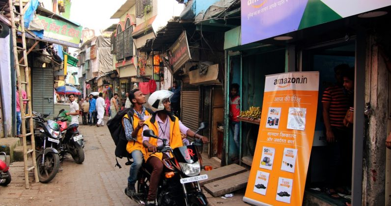 Amazon India unveils Hindi website, app in battle with Flipkart