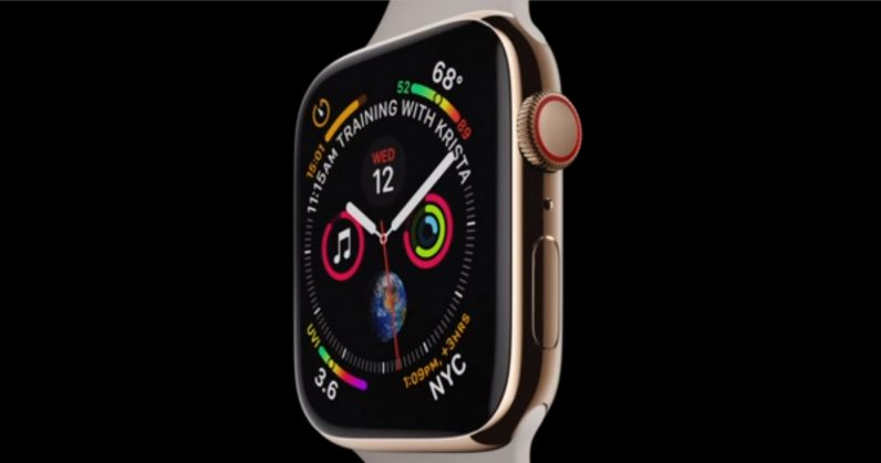 Apple debuts the redesigned Watch Series 4