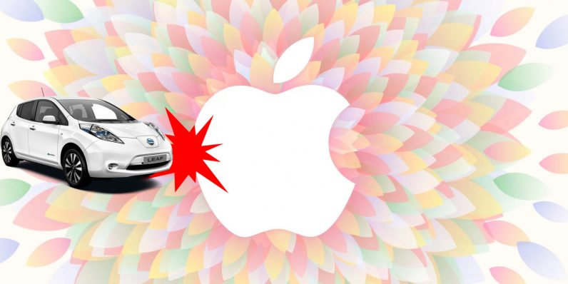 Oops: Apple's self-driving test car rear-ended in its first collision