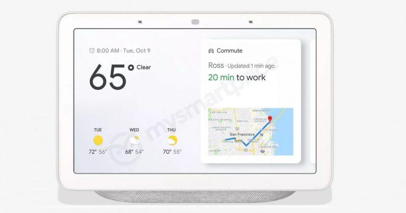 Google home hub 796x417 - Google Home Hub leaks ahead of Pixel 3 event