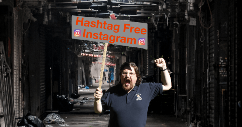 Instagram rumored to be testing a hashtag selector tool, geo-fenced posts