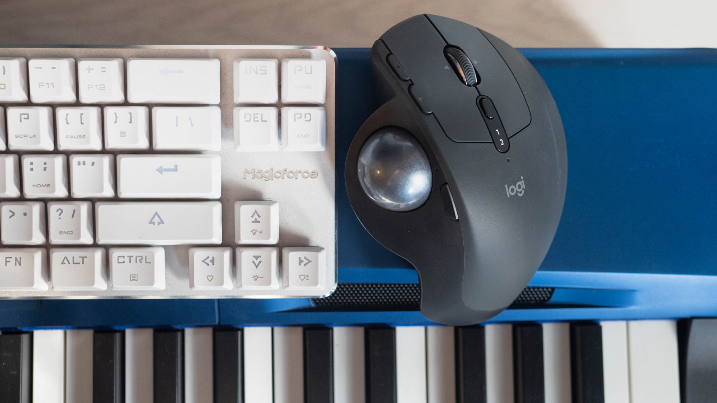 Logitech's MX Ergo almost convinced me to switch to a trackball mouse