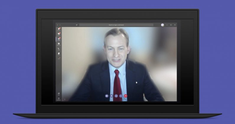 Microsoft Teams Background Blur 796x419 - Microsoft Teams can now blur backgrounds during video calls, thanks to  AI