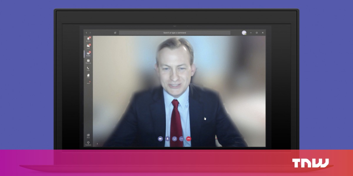 Microsoft Teams can now blur backgrounds during video calls, thanks to AI