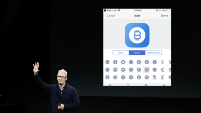 Has Apple changed its tact towards cryptocurrency?