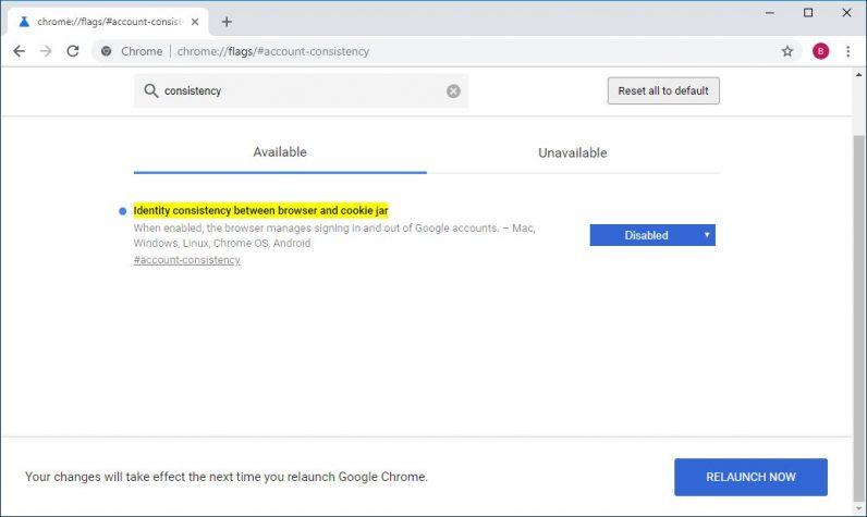 Google Chrome 70 dará más control a los usuarios al iniciar sesión