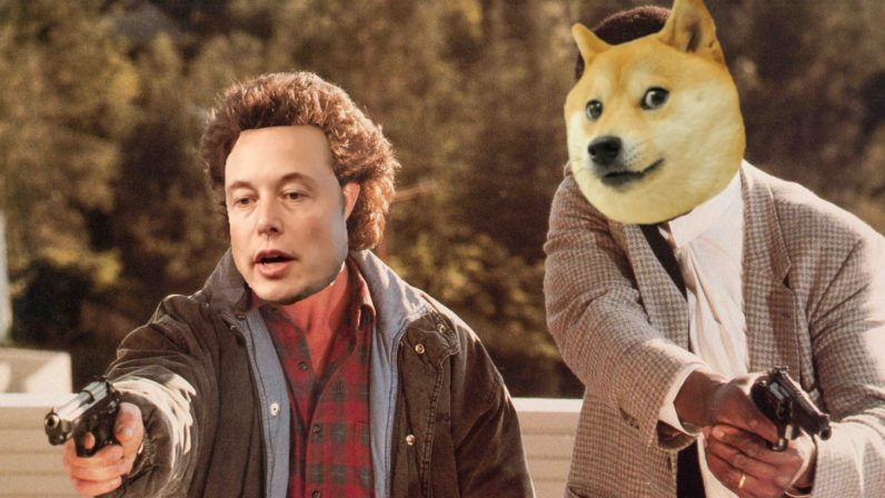 muskdoge 796x448 - Elon Musk recruits Dogecoin creator to fight cryptocurrency scambots