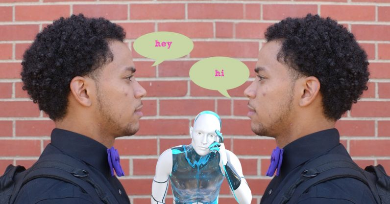 talking to self 796x417 - Researchers paid people to talk to themselves so AI will sound less dumb