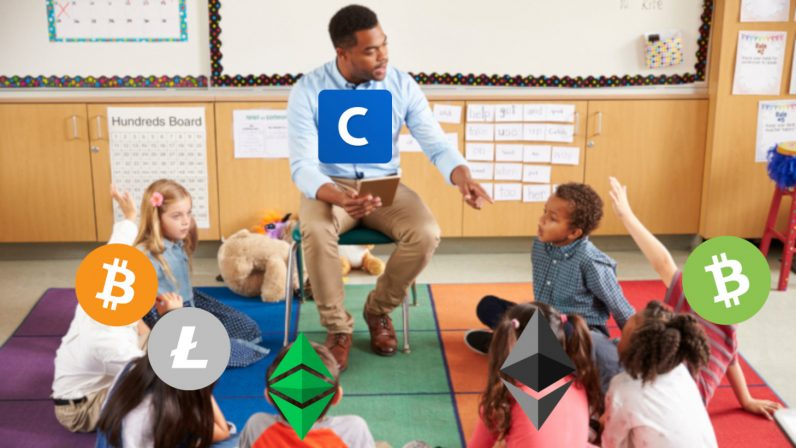 teacher bitcoin litecoin bitcoin cash ethereum ethereum classic cryptocurrency blockchain coinbase 796x448 - Coinbase's new discovery tools make buying cryptocurrency dangerously easy