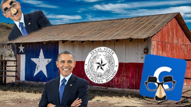 tssb fraud cryptocurrency cease desist scammers bitcoin coinbase 1 796x448 - Texas regulator goes after cryptocurrency scammers boasting fake Obama endorsements