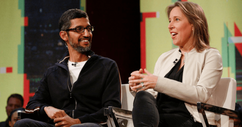 wojcicki 796x419 - Women get just 47 cents in equity for every $1 awarded to male colleagues