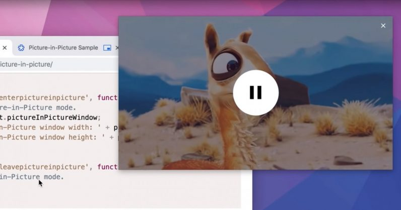 Use Chrome's picture-in-picture mode to watch videos while browsing other tabs
