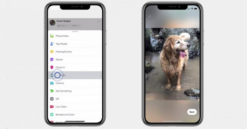 Facebook launches 3D Photos for iPhone Portrait mode images
