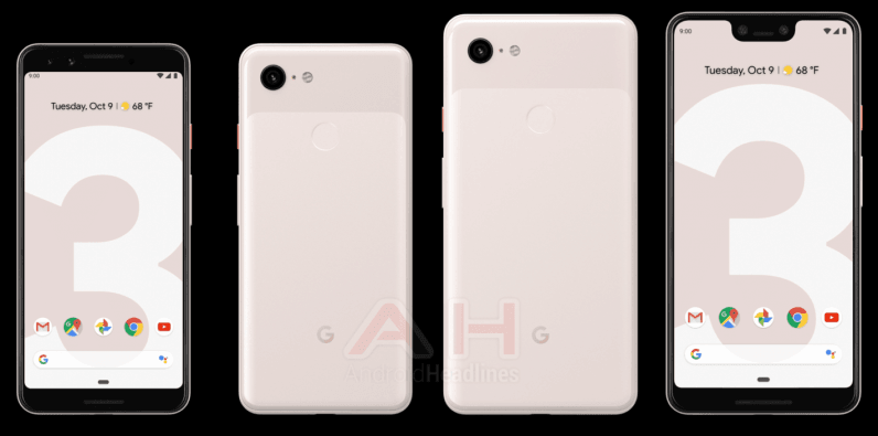 Google Pixel 3 Pink 1 1420x705 796x395 - Yet another Pixel 3 leak shows off new 'Sand' (AKA pink) color