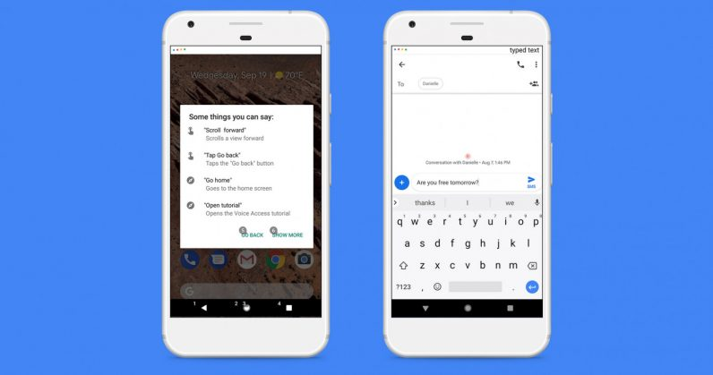 Google has launched an application for voice control of Android devices
