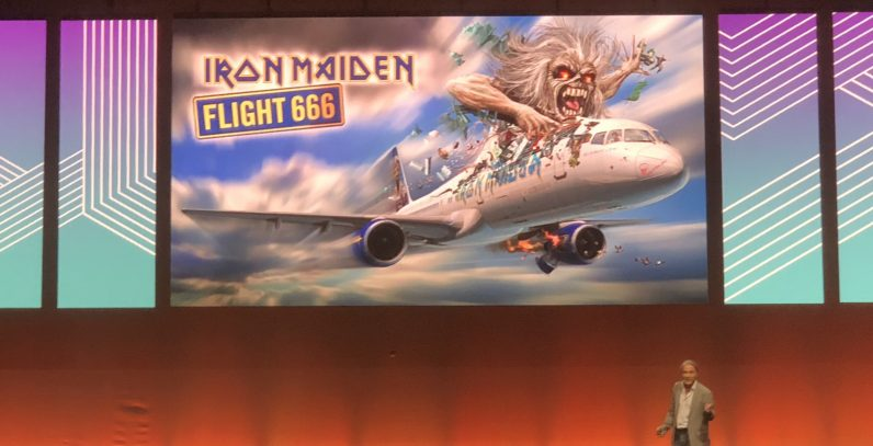 IMG 3065 796x407 - Iron Maiden's Bruce Dickinson steals the show with an inspirational keynote