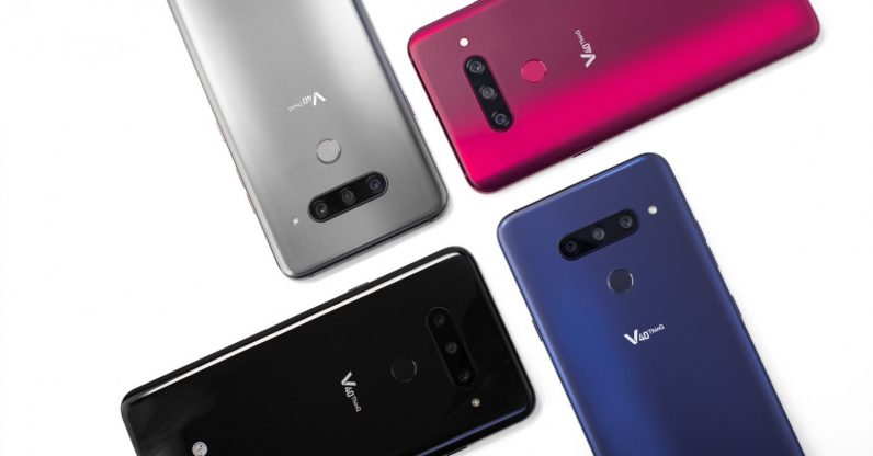 LG V40 ThinQ featured