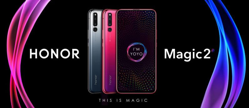 M1 796x345 - The Honor Magic 2 packs six cameras into an all-screen slider phone design