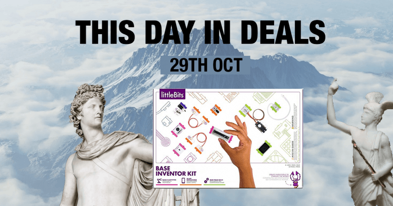 TDID 2910 796x417 - This Day in Deals: An inventor kit that won't get you burned at the stake