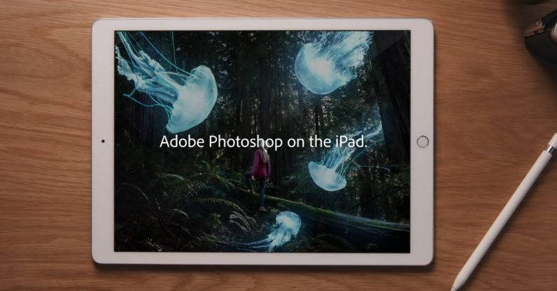 Adobe Photoshop finally arrives on the iPad
