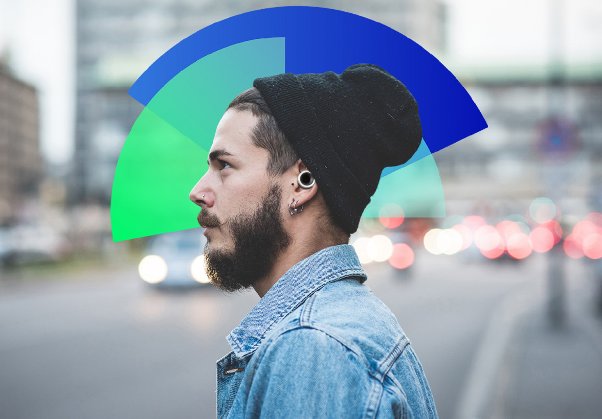 These analog noise-reducing ear buds helped me with my anxiety