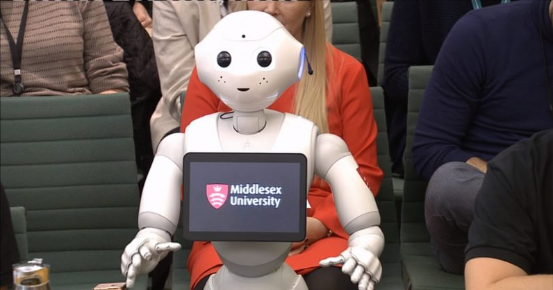 Uk Puts On Misleading Robot Puppet Show In Parliament