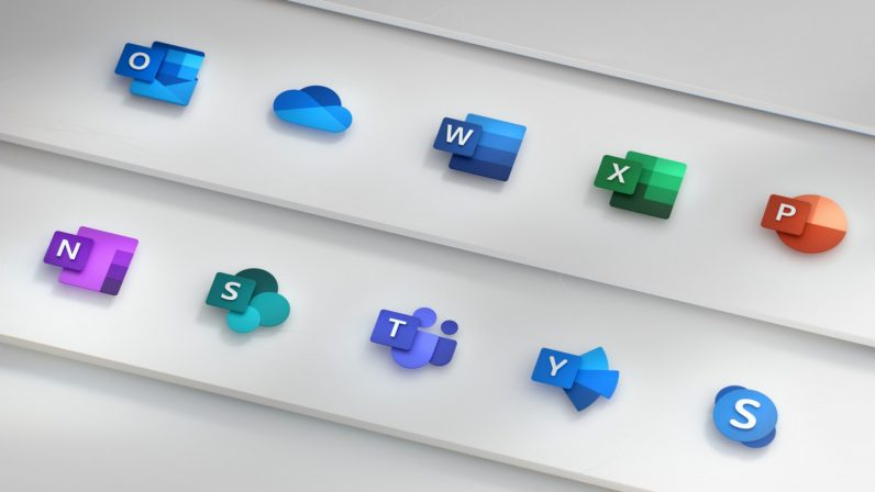 Microsoft revamps its Office 365 app icons with a simplified look