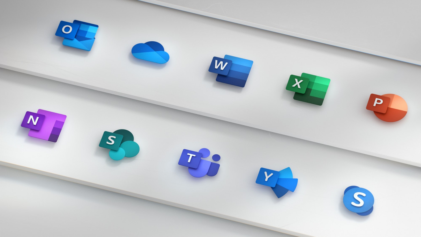 Microsoft S New Office Logos Are A Beautiful Glimpse Of The Future Search, discover and share your favorite the office logo gifs. office logos are a beautiful glimpse