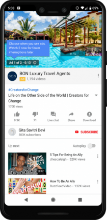 YouTube ad Pods