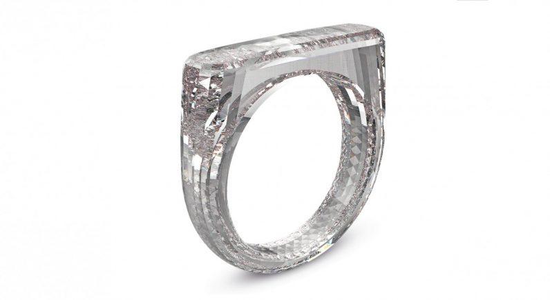 Apple's Jony Ive designed a diamond ring that's literally all diamond