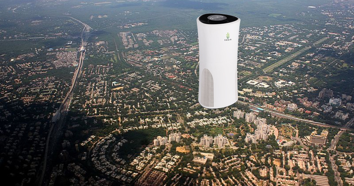 This startup wants to remove Delhi pollution with a smog-eating tower