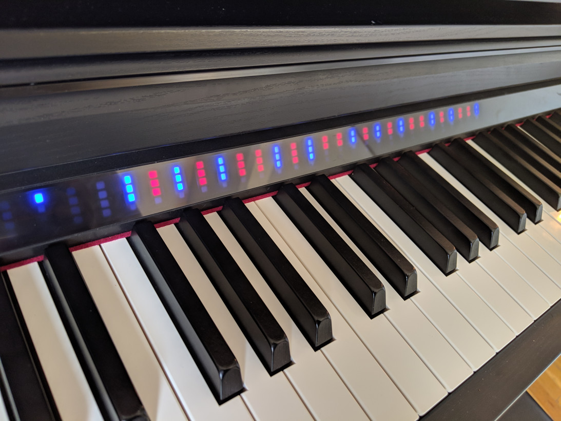 Yamaha's CSP-170 makes learning piano easy with LED lights and one clever app