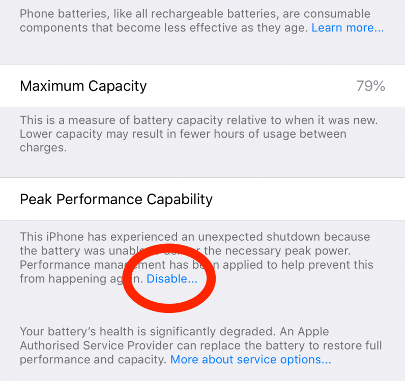 How to stop Apple from throttling your ageing iPhone