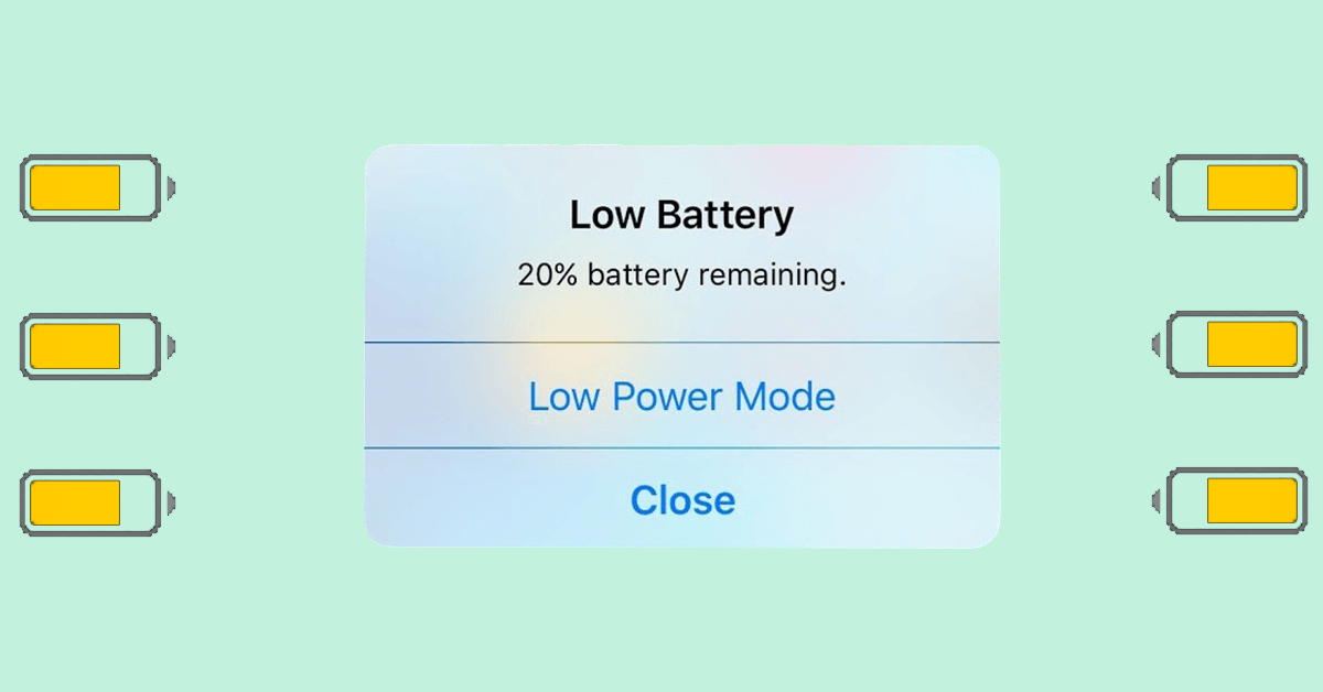 How to turn on your iPhone's 'Low Power Mode' quickly and easily