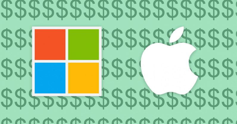 Microsoft dethrones Apple as the most valuable United States company