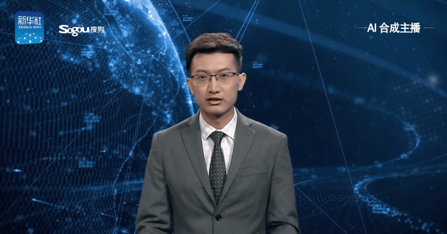 China debuts creepy AI that reads the news like a real(ish) anchor