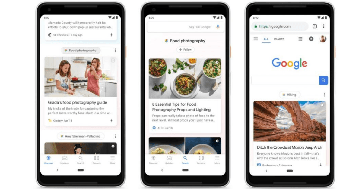 Google's underrated Discover feature can change how we surf the web