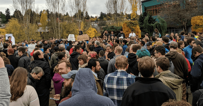 Thousands of Google employees walk out to protest harassment, inequality