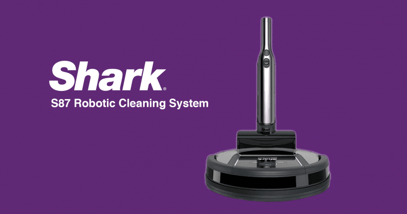 Shark S87 robotic cleaning system: A great vacuum with bad AI