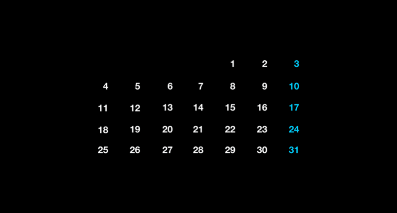 Here's why calendars look the way they do