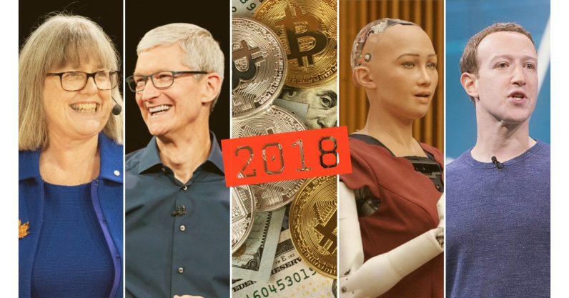 A recap of tech's crazy 2018