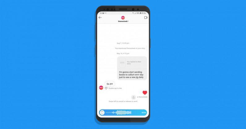 Instagram gets WhatsApp-style walkie-talkie voice messages