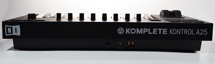 The Komplete Kontrol A25 is an excellent MIDI-controller