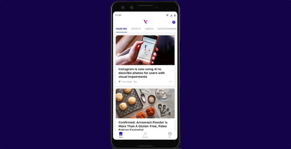 Microsoft's Hummingbird app uses AI to deliver a personalized news feed